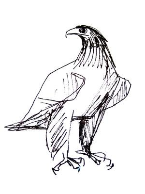 zeichnung fritz melis bildhauer
